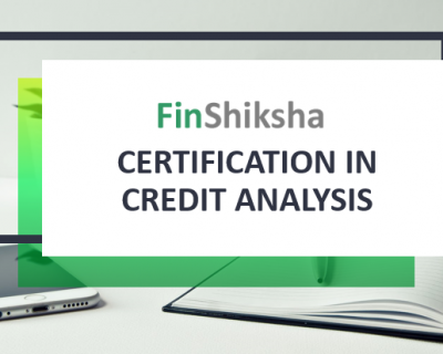 Certification in Credit Analysis