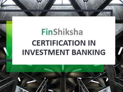 Certification in Investment Banking