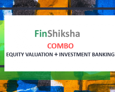 Combo – Equity Valuation + Investment Banking